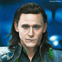 Loki Laufeyson 2.0 (colour pencils) by Quelchii