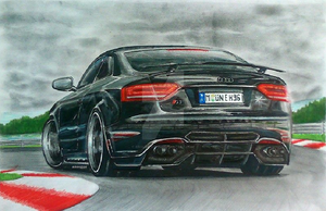 2010 Audi RS5 by EBISUdesigns