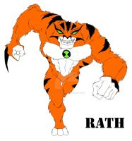 Rath Cometh - Colored by BloodWolfGurl