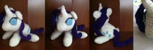 Rarity - Amigurumi by theunknownsoul