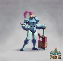CRUSHERS OF ROBOTS - character design - 02 by allanjefferson666