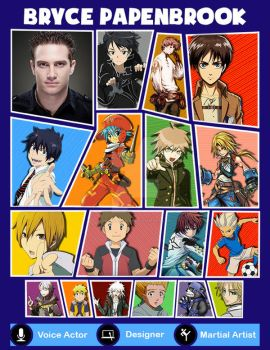 Bryce Papenbrook's Voice Acting Roles by digital-strike