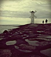 To The Lighthouse by Croppka