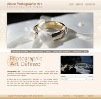 allure website by dj-dark by webgraphix