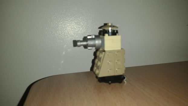 Lego Special Weapons Dalek (2nd Attempt) by Madskillz-001