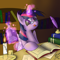 After Study Drink by Johansrobot