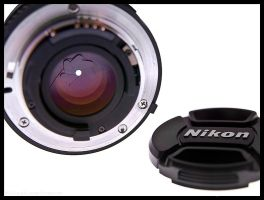 Nikkor 50mm - Aperture by BlackScarletLove