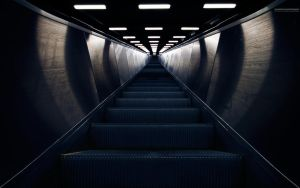 Escalator II by CalleHoglund