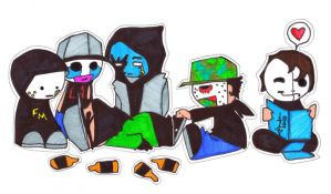 Hollywood Undead by AefeN53