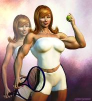 In Tennis, Love Means Nothing by Lingster
