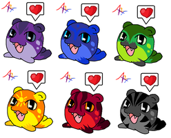 Spheal Adopts ::CLOSED:: by DappleFeather