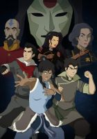 Avatar: The Legend of Korra by sukieblackmore