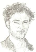 Robert Pattinson by bcstroud