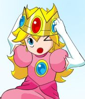 Young Princess Peach by Choark