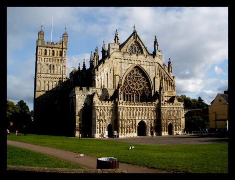 Exeter Cathedral by Ely-Baby