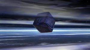 Cube In Stratosphere by 351837