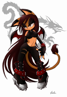 Giuly +new outfit+ by BlackDragon-kin