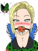 android 18 by ballgaglover1