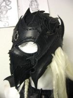 drow helmet by Sharpener