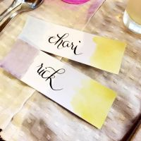 Place Cards Calligraphy 1 by jpaul