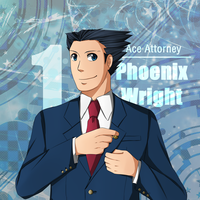 AA: (1) Phoenix Wright by ozamham
