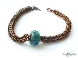 Chainmaille: FullPersian Bracelet by LinaIvelle