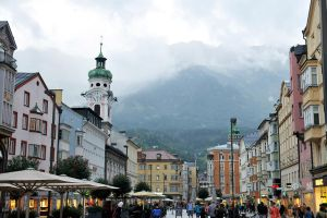 Town Square 1 - Innsbruck by wildplaces