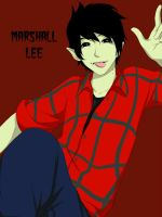 Marshall lee The Vampire King by MiyajimaMizy
