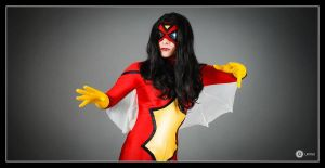 SPIDERWOMAN 01 by Prometheacosplay