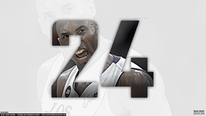 #24 KOBE BRYANT l Collection by Rafael Vicente by RafaelVicenteDesigns