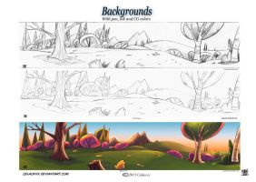 Backgrounds by celaoxxx