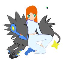 Me and my Luxray by Demondreans667