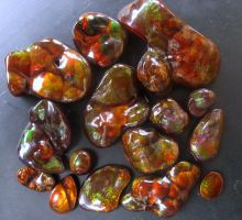 Fire Agate Batch II by jessa1155