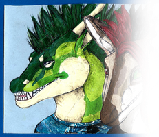 Collage gift for Scylla - Ley's part by Mikaley