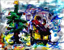 Happy Holidays LProctor by LaurieLefebvre