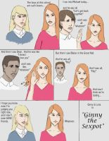 Ginny the Sexpot by PoorMedea
