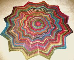 Blanket .:crochet:. by cordria