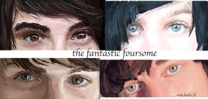 The Fantastic Foursome: Eyes by rachele-X