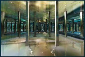 Aqua narthex by Vidom