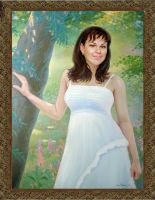 1048. portrait oil painting by yakovdedyk