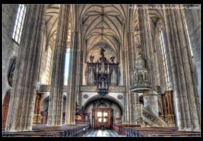 St. Jacob's Church by KarelSopek