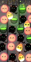Repeating Halloween Box by BubbleChii