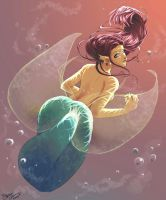 +Mermaid+ by Just-Like-Shipwrecks