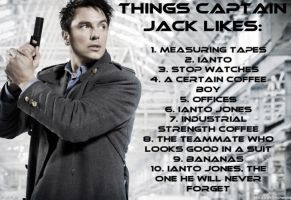 What Captain Jack Likes by calceil