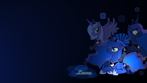 Wallpaper Luna 14 by Mauakron