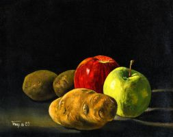 Apples and Potatoes by hank1