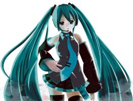 My name is Hatsune Miku by XenoAisam