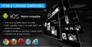 HTML5 Canvas Carousel by flashdo