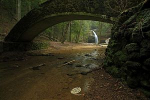 Lower Falls Hocking Hills by TRBPhotographyLLC