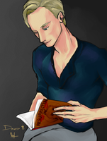 Don't touch that book, David by kaiseiyuubi